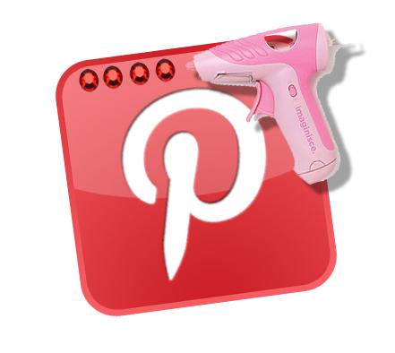 Nothing better than Pinterest and a glue gun!!