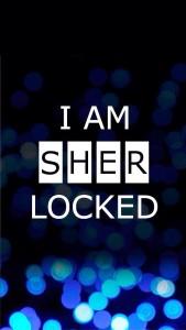 I AM _ _ _ _ LOCKED