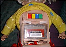 Cricket the Talking Doll's cassette tape